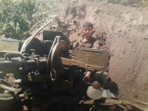 Elnur Məmmədov - artileriya
